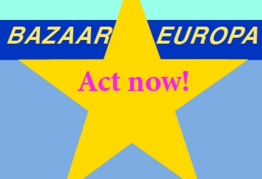 BAZAAR EUROPA  - Fancy playing theatre with us?